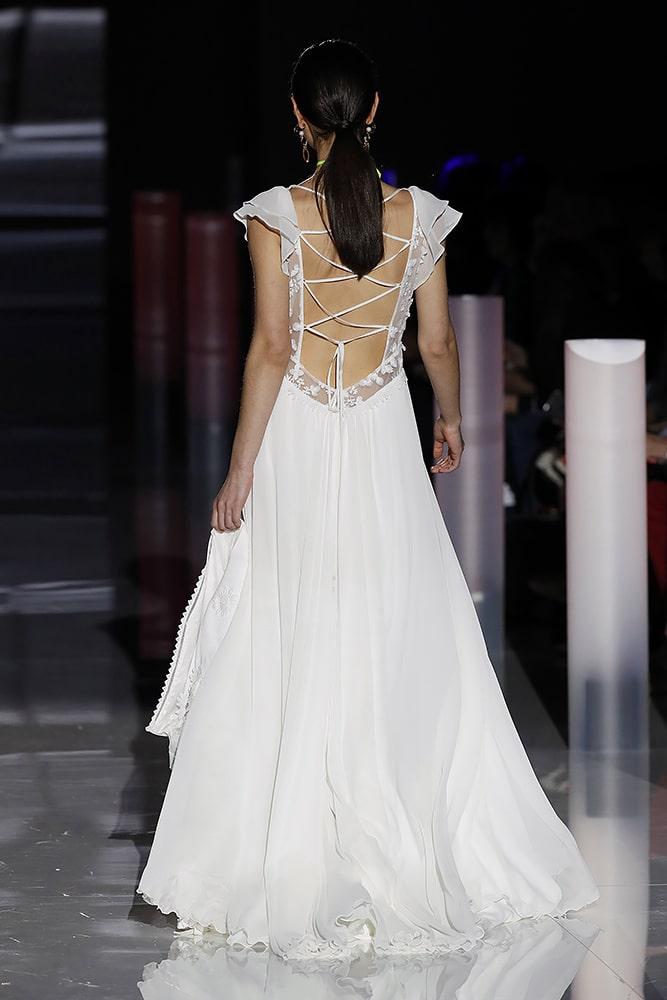 Honoree dress - back